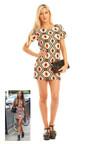 Marnie Printed Shift Dress Thumbnail