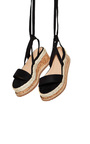 Reeva Strappy Wedge Sandals Thumbnail