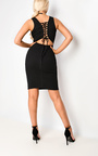 Daisey Vest Lace Up Bodycon Dress Thumbnail