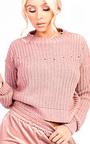 Sara Knitted Distressed Jumper Thumbnail