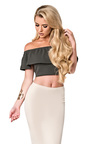 Jessi Off Shoulder Crop Top Thumbnail