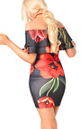 Natasha Bardot Floral Dress Thumbnail