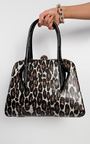 Perdita Leopard Print Handbag Thumbnail