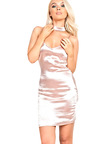 Allura Satin Slip Dress Thumbnail