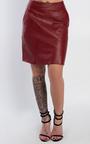 Natasha Faux Leather Skirt Thumbnail
