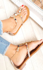 Gomez Crystal Embellished Sandals Thumbnail