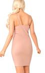 Mirey Lace Up Bodycon Dress Thumbnail