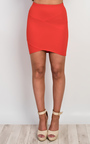 Norelle Fitted Mini Skirt Thumbnail