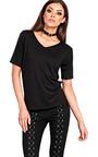 Loretta Basic V-neck T-shirt Thumbnail