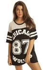 Kimmy Chicago Wolves T-Shirt  Thumbnail