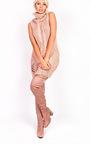 Kelly Knit High Neck Sleeveless Jumper  Thumbnail