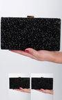 Sappho Gem Detail Clutch Bag  Thumbnail
