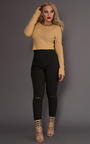 Eda Cropped Knitted Jumper Thumbnail