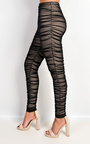 Kimmie Mesh Ruched Leggings Thumbnail