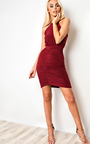 Kendall  Bodycon Wrap Dress Thumbnail