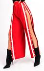 Erika Popper Legged Stripe Trousers Thumbnail