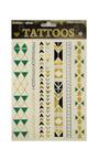 Temporary Aztec Tattoo Body Art Thumbnail