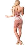 Viola Crushed Velvet Bodycon Dress Thumbnail