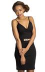 Odelia Gold Chain Dress Thumbnail