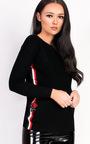 Kaira Knitted Stripe Jumper  Thumbnail