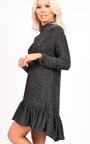 Emma Glitter Peplum Dress Thumbnail
