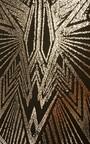 Esma Metallic Geometric Bodycon Skirt Thumbnail