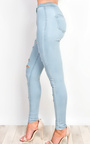 Alisiah Denim Skinny Jeans Thumbnail
