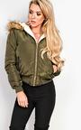 Melica Faux Fur Parka Jacket  Thumbnail