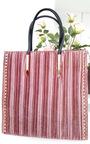 Merisa Studded Suede Handbag  Thumbnail