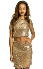 Aliya Sequin Party Top Thumbnail