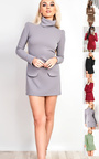 Bobbi High Neck Shift Dress  Thumbnail