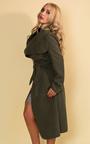 Goya Long Belted Coat Thumbnail