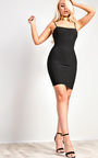 Aby Ribbed Mini Dress Thumbnail
