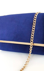 Millar Velvet Gold Chain Cross Body Bag Thumbnail