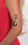 Nini Swirl Arm Cuff Thumbnail