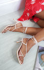 Abi Lace Up Heels Thumbnail