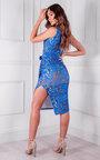 Ada Midi Printed Dress Thumbnail