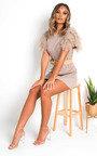 Addie Tulle Knit Dress Thumbnail