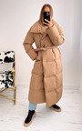 Addison Oversized Belted Puffer Coat Thumbnail