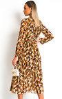 Adelaide Wrap Front Midi Dress Thumbnail