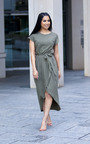 Adele T-Shirt Midi Dress Thumbnail