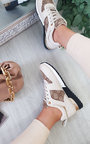 Adelle Printed Trainers Thumbnail