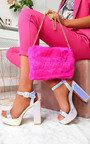 Afia Iridescent Platform Block Heels Thumbnail