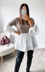 Alana Knitted Shirt Jumper Thumbnail