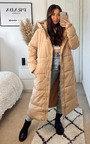 Alex Longline Hooded Puffer Jacket Thumbnail