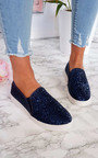 Alex Slip On Chunky Glitter Trainers Thumbnail