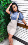 Ali Pinafore Mini Dress Thumbnail