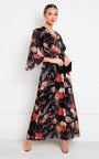 Alia Printed Floaty Maxi Dress Thumbnail