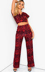 Alia Wide Leg Printed Co-Ord Thumbnail