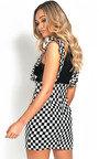 Aliana Pinafore Mini Dress Thumbnail